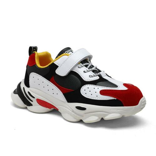kids boys fashion basketball shoes outdoor running