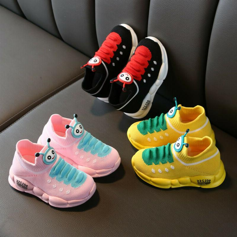 Kids Sport Trainers Sneakers Shoes Size US