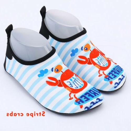 Kids Boys Girls Aqua Shoes Children US