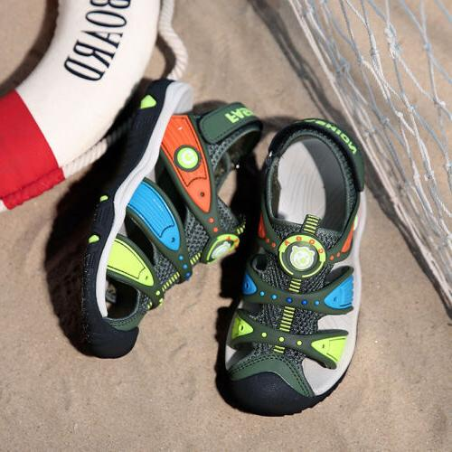 Kids Shoes Closed Toe Toddlers Beach Flat