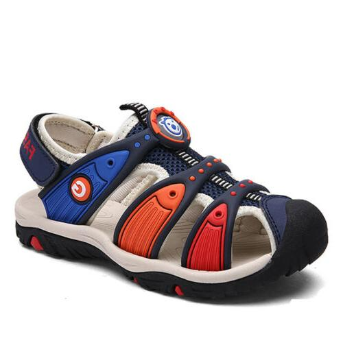 kids boys shoes closed toe sandals toddlers