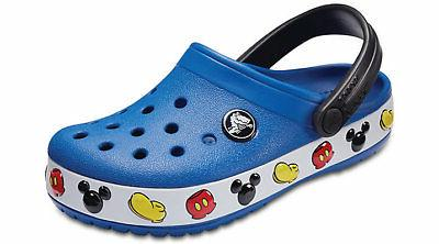 kids crocband mickey mouse clog