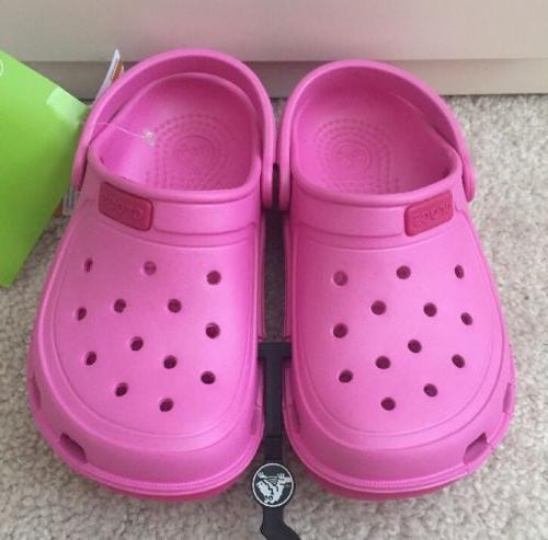 kids duet wave clog party pink candy