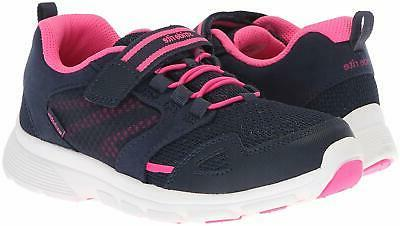 Kids Stride BB57238 Leather Low Walking Shoes