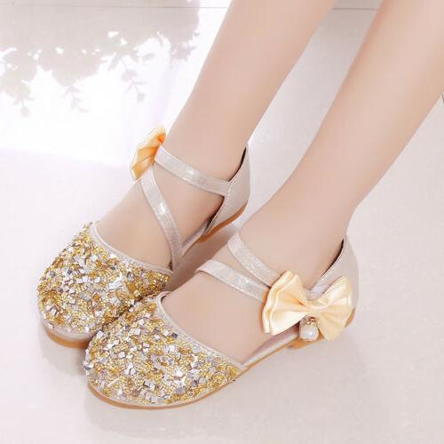 Kids Party Bridesmaid Shoes Size
