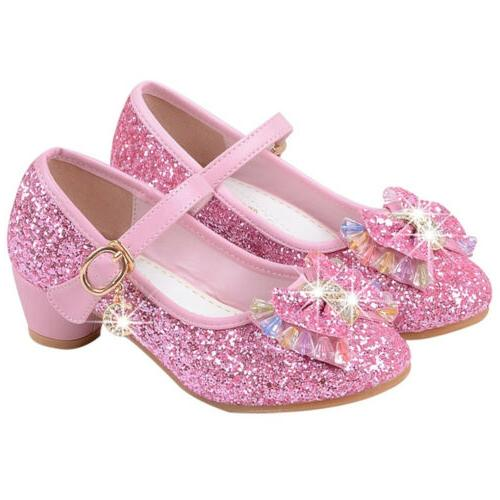 Sandals Low Party Dance Dress Shoes Glitter