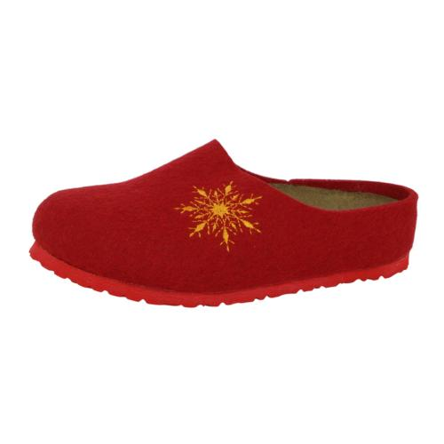 kids kaprun wool felt shoes snow stars