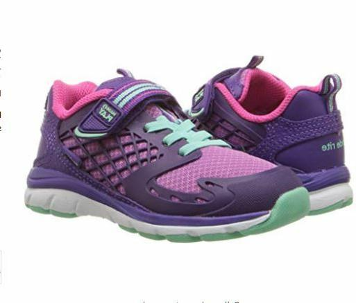 Stride Rite Cannan Made2play Girls Sneaker Shoes Purple 6 M
