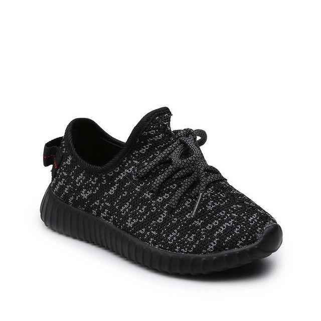Kids Girls Breathable Lightweight knit Comfort Sneakers