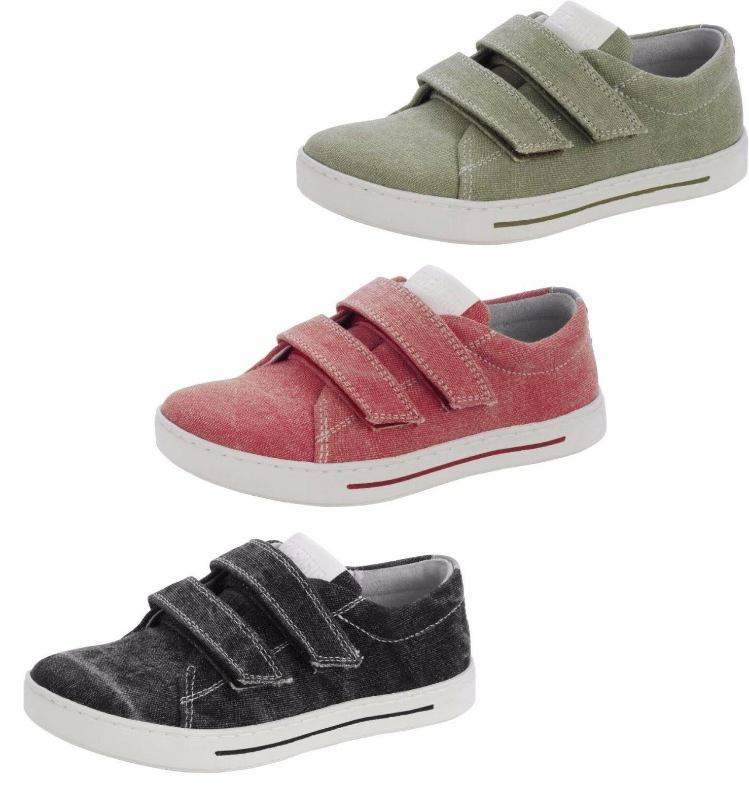 BIRKENSTOCK KIDS SHOES ARRAN TEXTILE CANVAS HOOK & LOOP BOYS