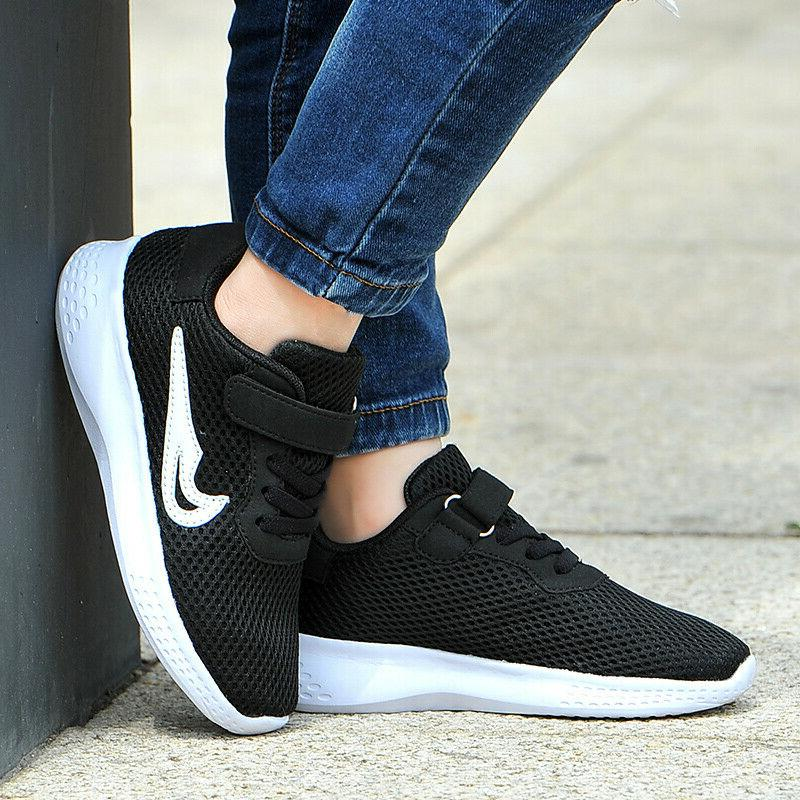 Kids Shoes Boys Girls Sneakers Casual Lace up Sports Running Breathable Hot