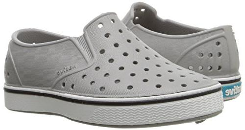 Native Shoes Miles Water grey/shell white,8 US