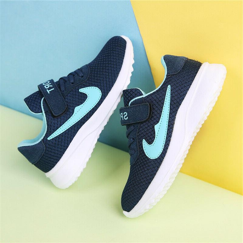 Kids Sneakers Breathable Boys Athletic Shoes