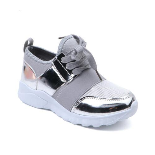 Kids Sneakers Athletic Running Casual Shoes Girls