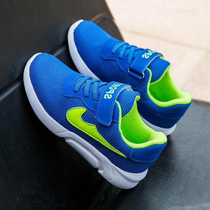 Children Athletic Running Shoes Boys Sneakers 28-40