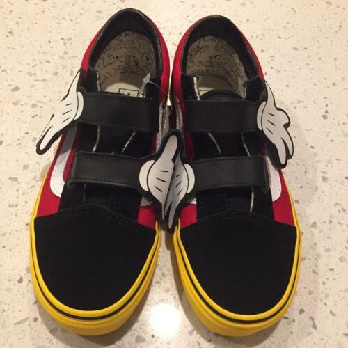 Kids VANS X Shoes Size Mouse Style NWT!
