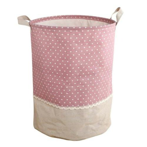 Laundry Basket Waterproof Foldable Hamper Bag Dirty Toy Storage
