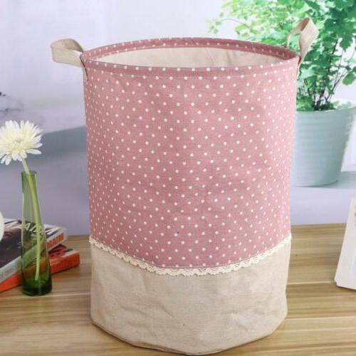 Laundry Waterproof Hamper Bag Dirty Clothes Toy Storage