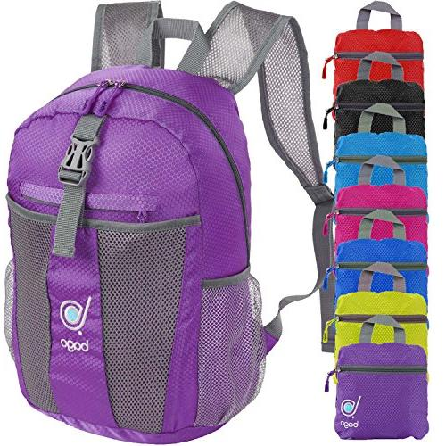 lightweight backpack water resistant collapsible