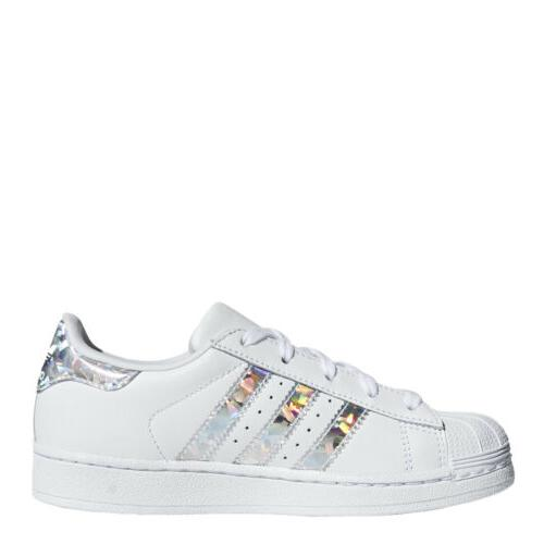 adidas Superstar Shoes: White/Silver - CG6708