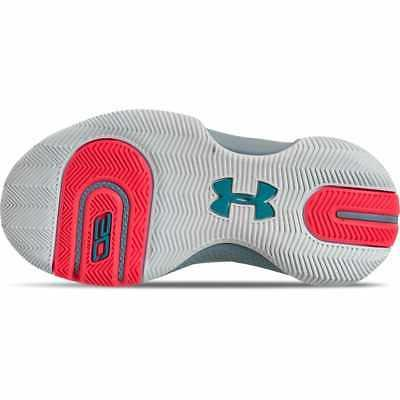 Little Kids' Armour SC 3ZER0 Shoes Halo Gray/Teal