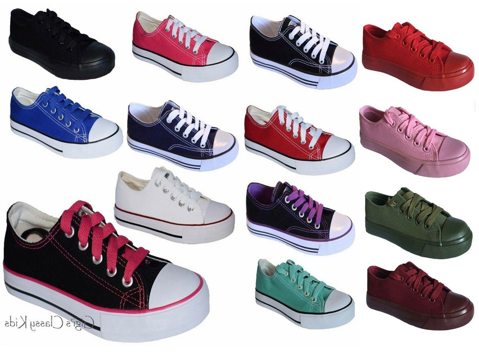new boys girls youth classic low top