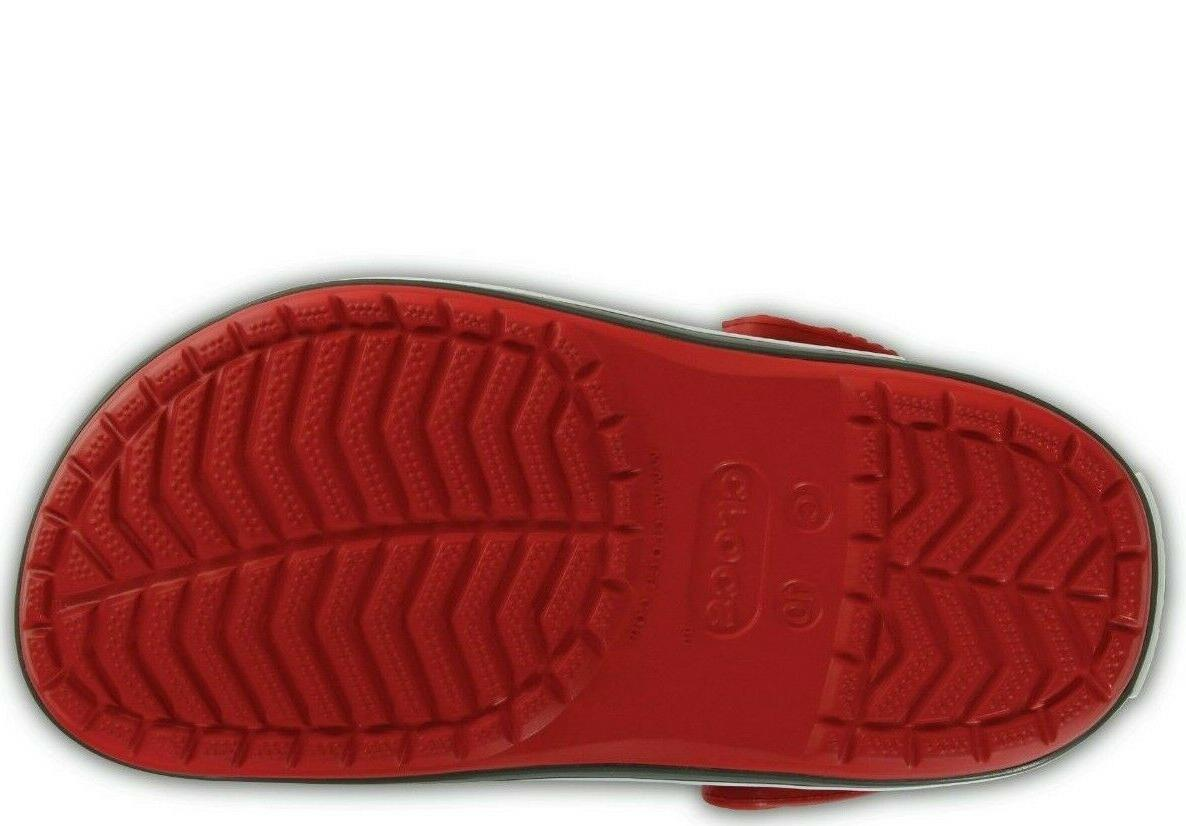 New Crocband Clogs Kids size Pepper/Graphit