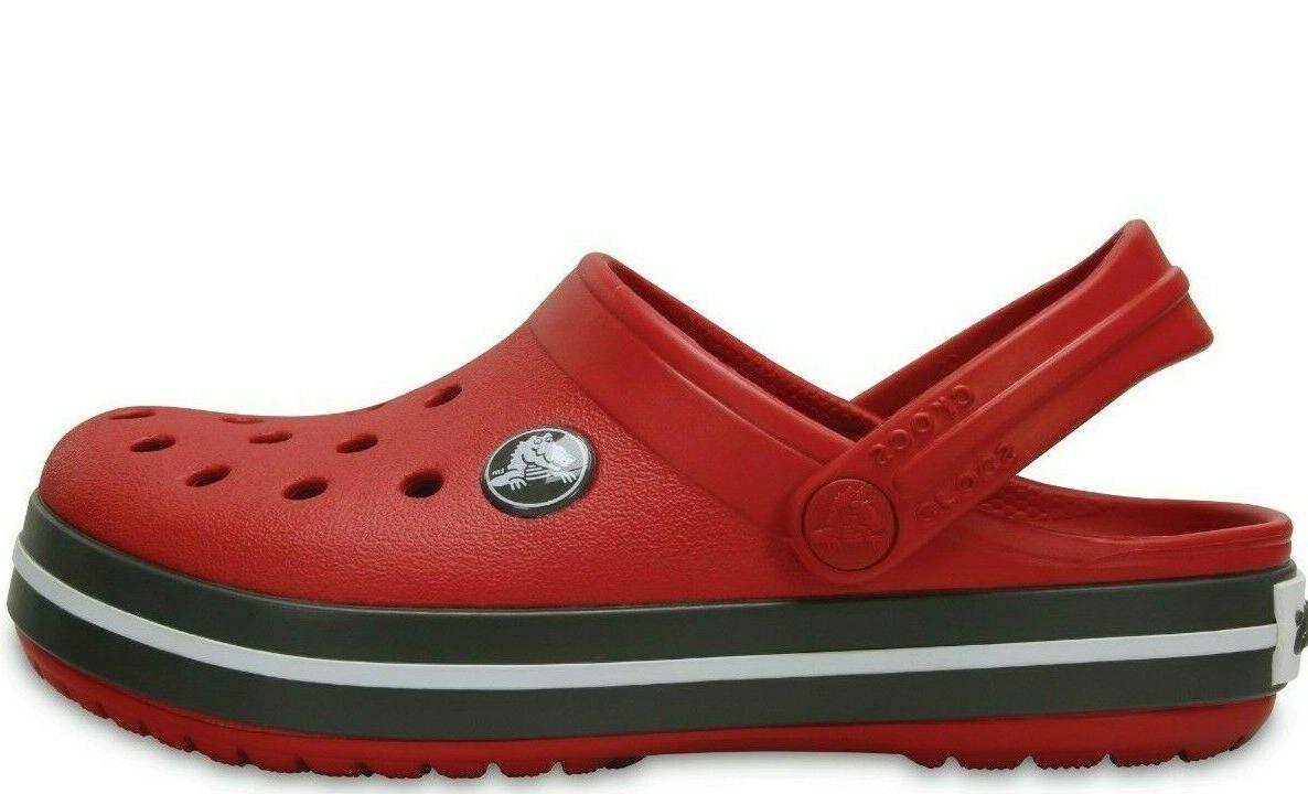 New Clogs Slip-On size Red Pepper/Graphit