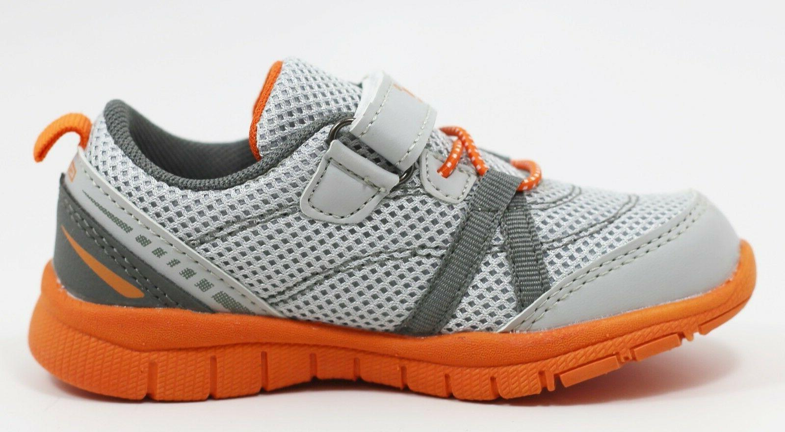 New Sneakers shoes Grey Orange