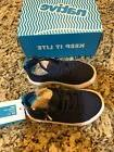 New Native Kid's Monaco Low Shoe Size C8  Style: 23104214 Bl
