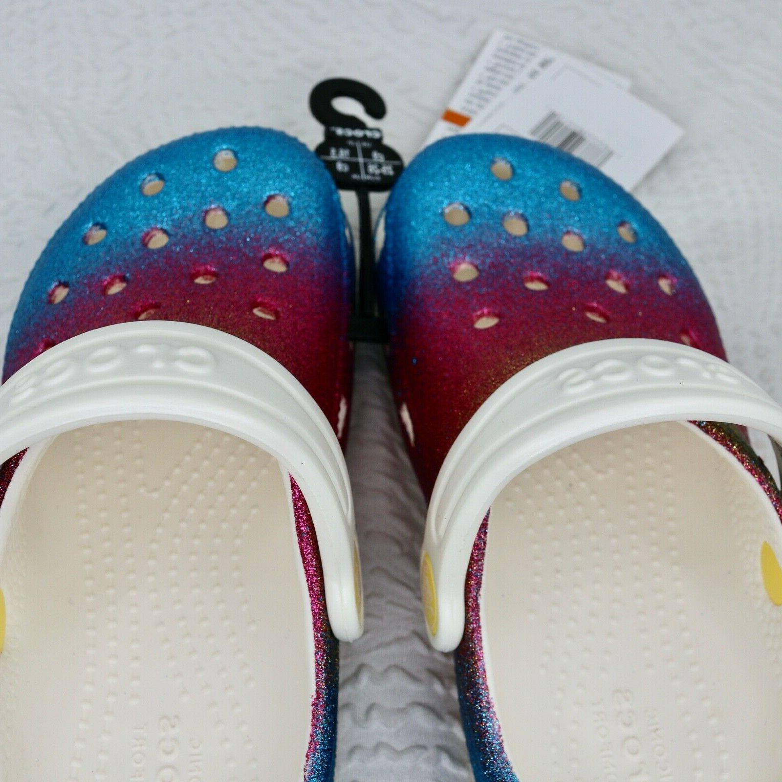 NEW Crocs Ombre toddler 9