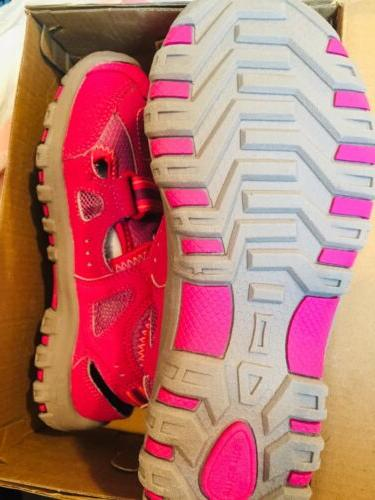 NEW Stride 2 Play Christiana Kids Sandals Shoes Pink