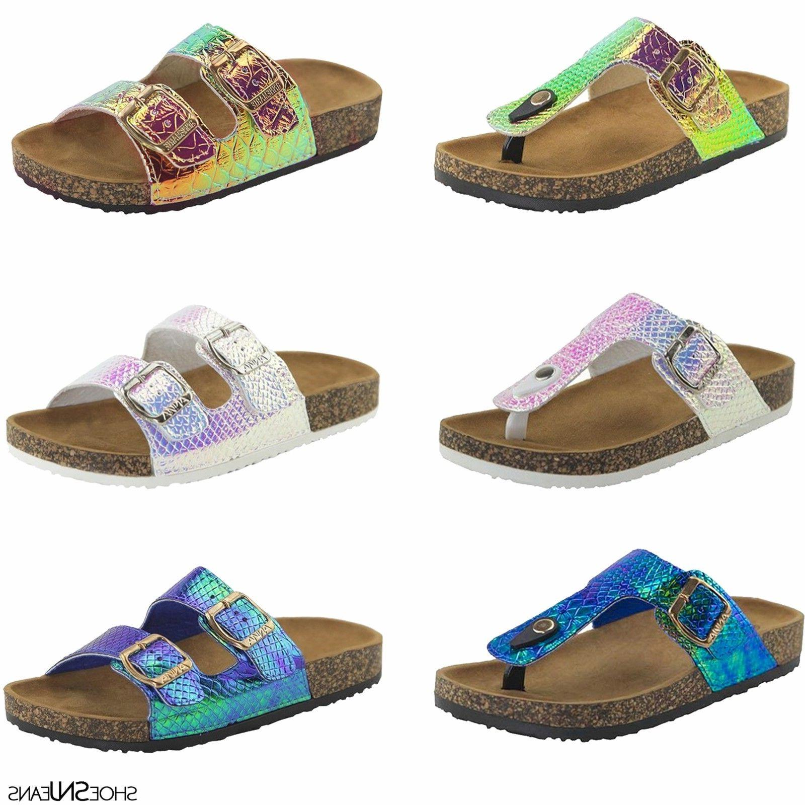 new women and kids glitter sandals shoes