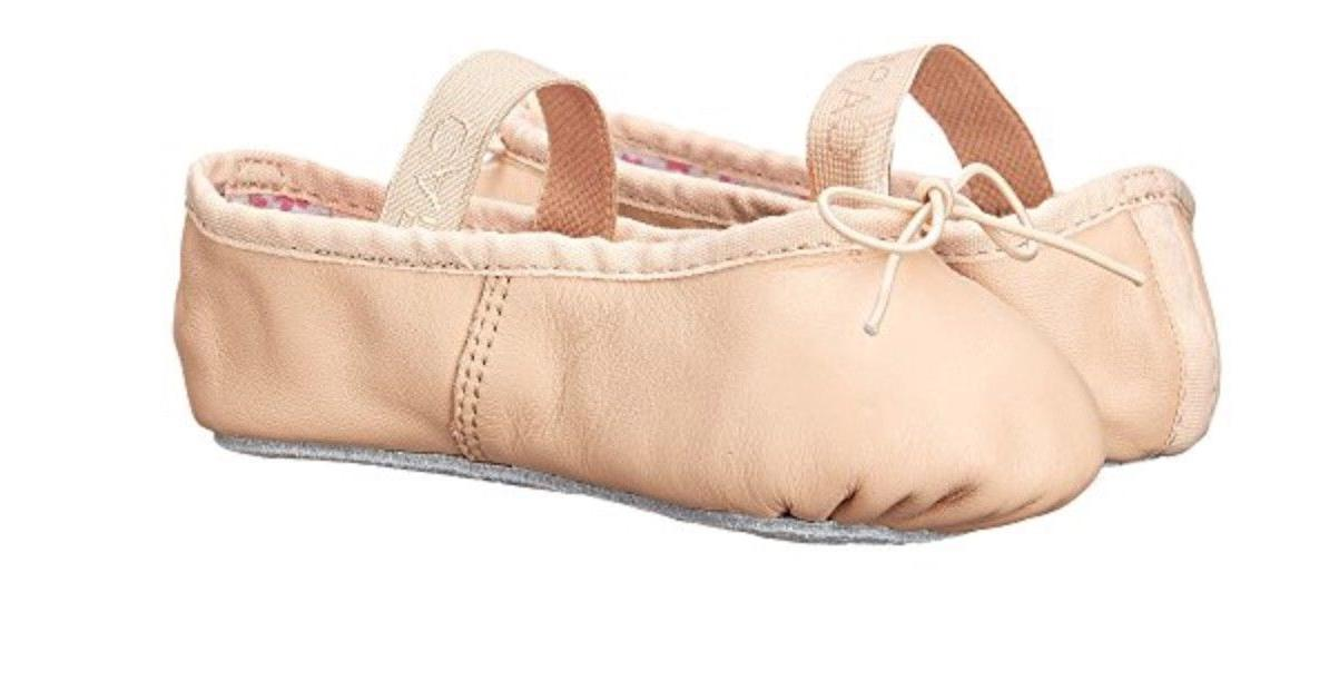 Adult Sizes NIB Capezio Daisy Pink Full-sole Leather Ballet Slipper