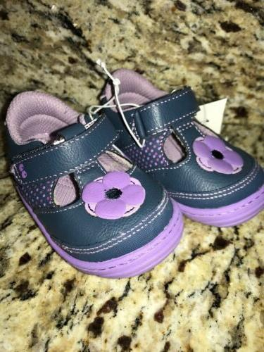 NWT Velcro Shoes Purple 4
