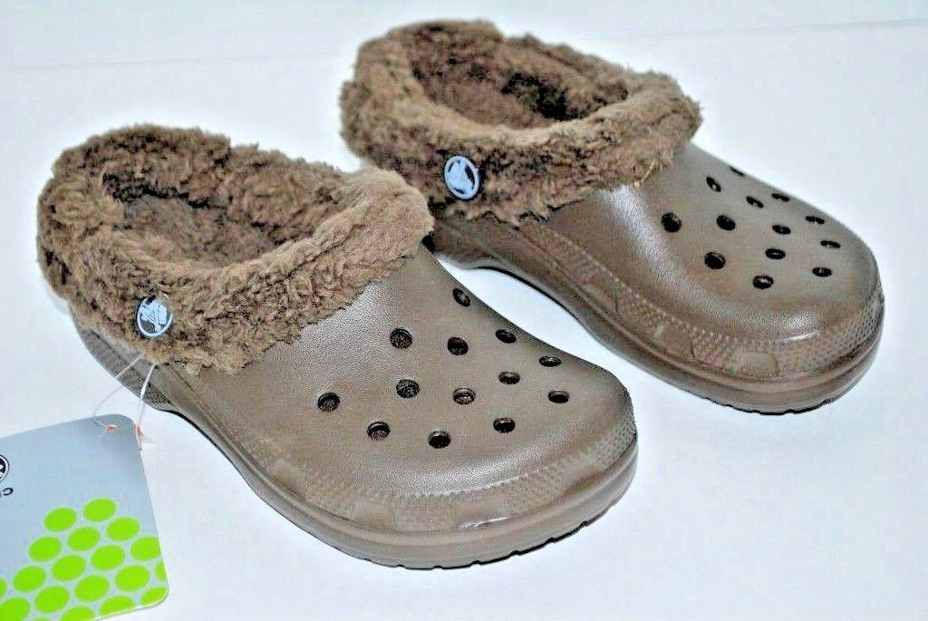 NWT KIDS CHOCOLATE brown 8/9 12/13 winter shoes