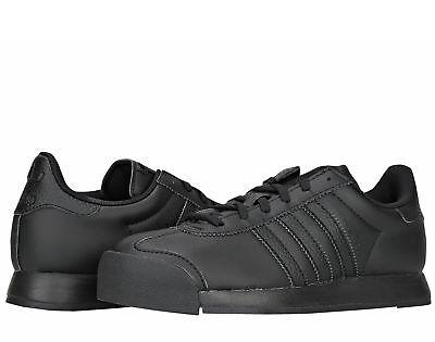 Adidas Originals Samoa J Black/Black Big Kids Soccer Shoes A