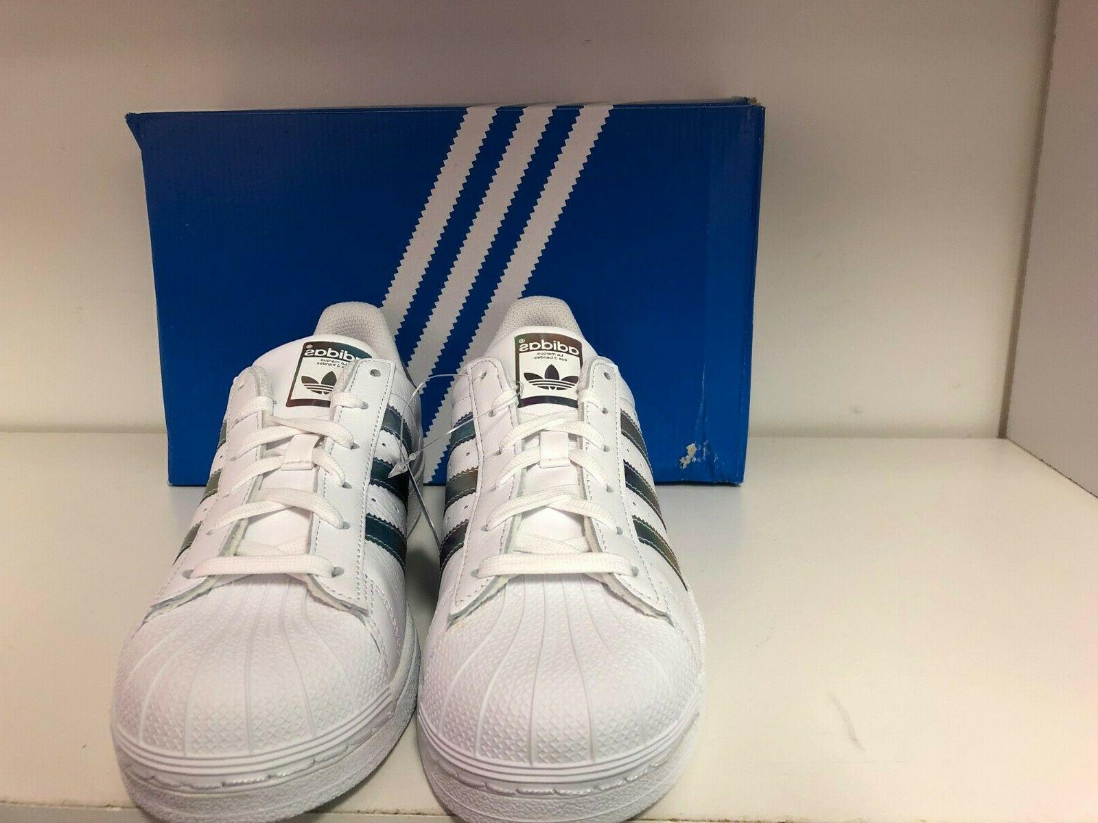 Adidas Shell Toe Kids Size 7 Shoes CQ0747
