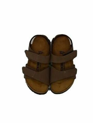 Birkenstock Palu 8-8.5 EU Brown Faux Leather Shoes