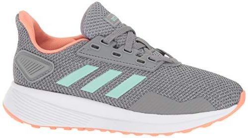 adidas Performance Unisex-Kids 9 Running Heather/Clear Mint/Granite, US Kid