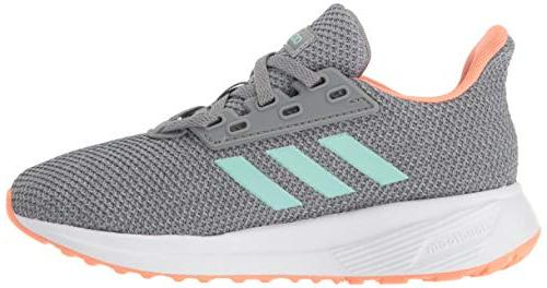 adidas Performance Unisex-Kids Duramo 9 Heather/Clear 6.5 M US