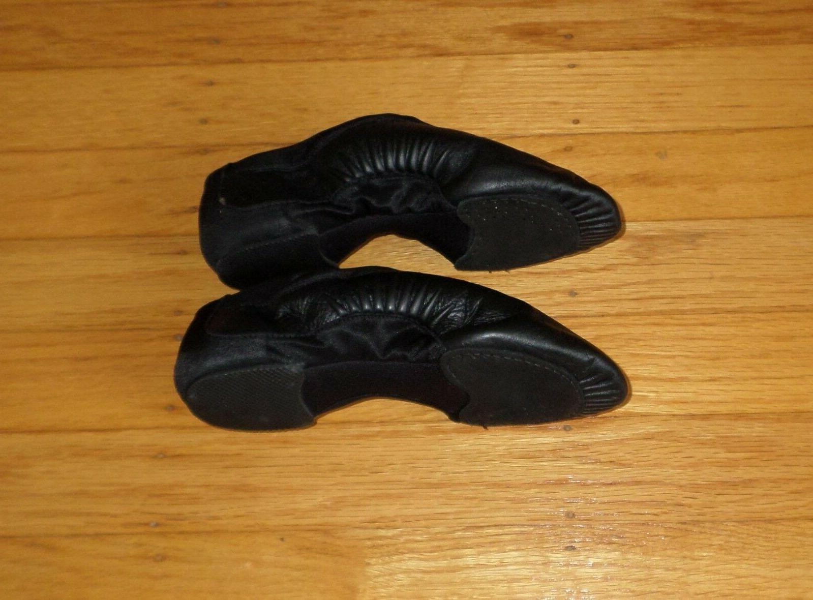 BLOCH Sole Jazz Shoe BLACK Size 13M Kids to