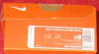 NIKE REVOLUTION TODDLER SIZE 9C SHOES BV6285 PHOTO NO TIE