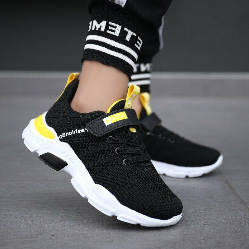 Running Tennis Shoes for Boys Girls Sneakers Ultra Mesh