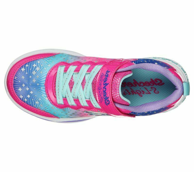 Skechers Lights Petals Painted Daisy Youth Shoes