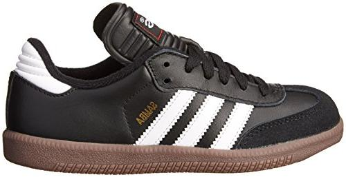 adidas Samba Soccer Shoe, 5 M US Big Kid