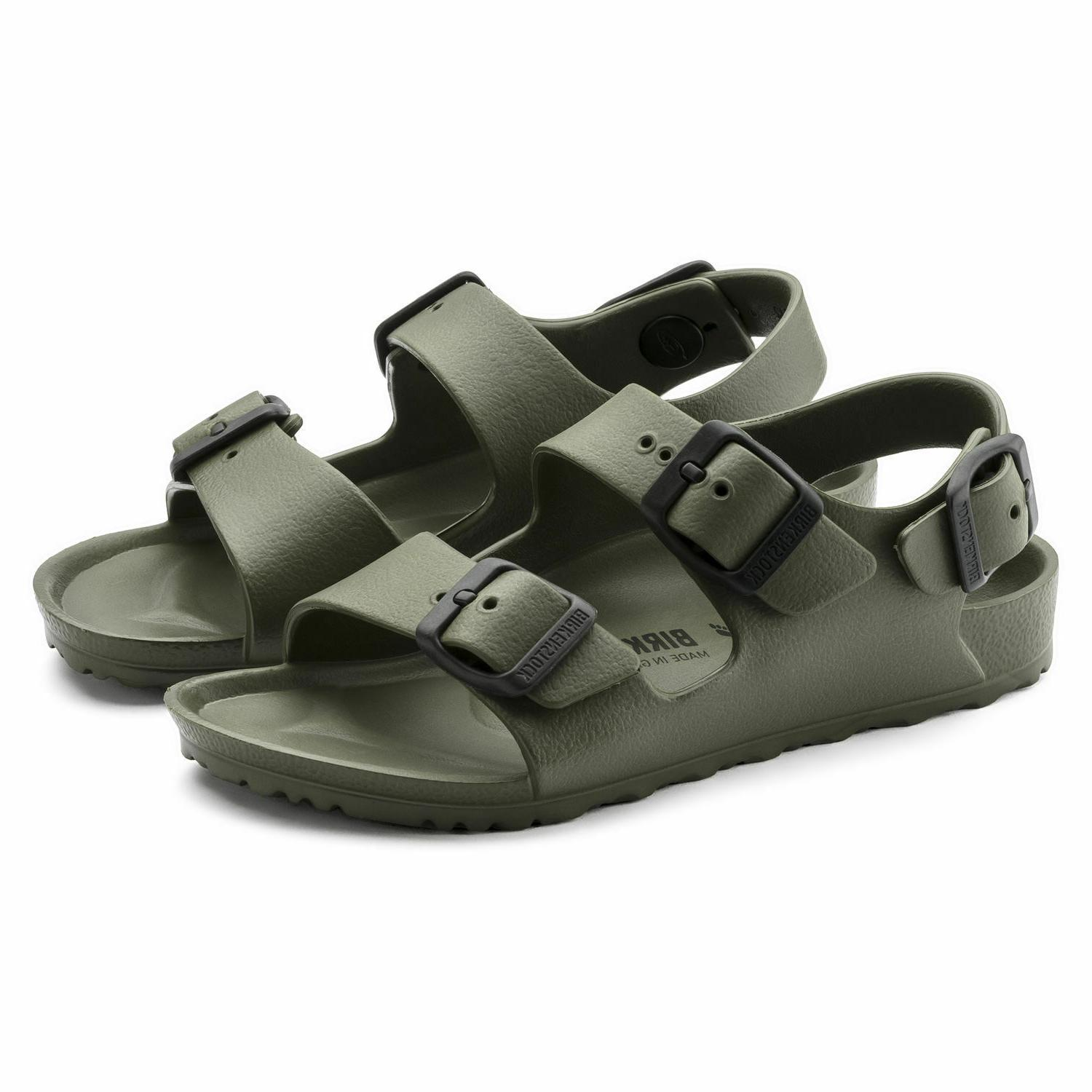 Birkenstock Sandals Kids Khaki Flip Choose Size