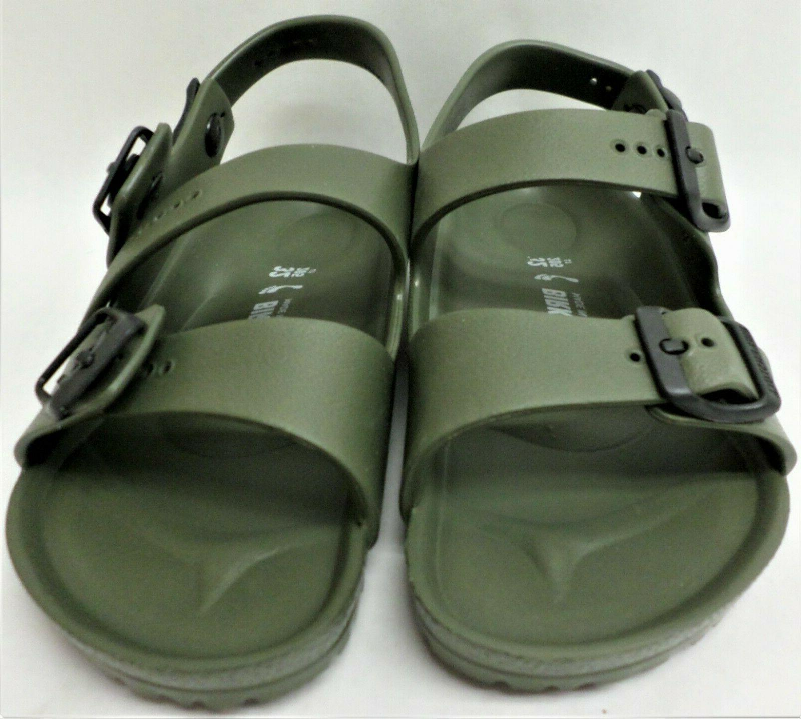 Birkenstock Sandals Kids Narrow Fit Khaki Flip Size