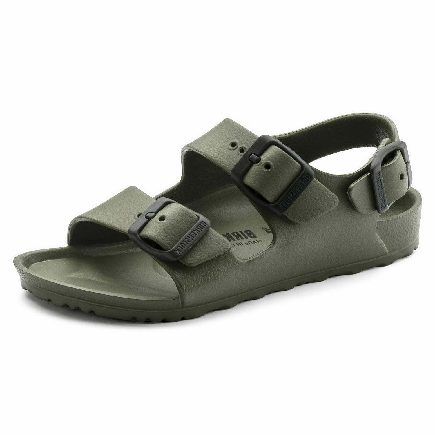 sandals milano eva kids narrow fit khaki