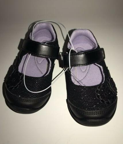 Surprize Rite Black Children Footwear